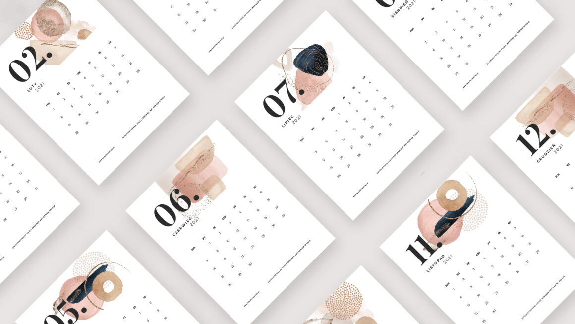 Kalendarz 2021 dodruku